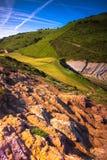Baskisches Land lizenzfreies stockbild