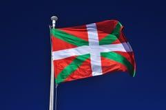 Baskisk flagga. Euskadi Spanien Royaltyfria Bilder
