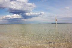 baskunchak άλας λιμνών στοκ εικόνες με δικαίωμα ελεύθερης χρήσης