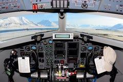 Basler BT-67 Turbo-67 C-GAWI polara 5 av Alfred Wegener Institute för polart och Marine Research på den Svalbard flygplatsen Arkivbilder