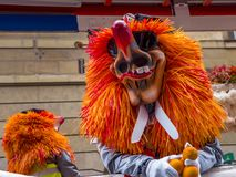 Basler Fasnacht, Carnival of Basel, Basel, Switzerland. Europe royalty free stock photography