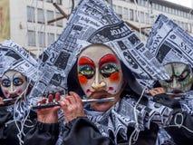 Basler Fasnacht, Carnival of Basel, Basel, Switzerland. Europe stock photos