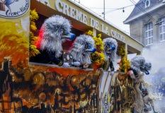 Basler Fasnacht, Carnival of Basel, Basel, Switzerland. Europe stock photography