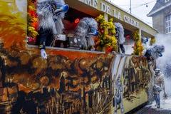 Basler Fasnacht, Carnival of Basel, Basel, Switzerland. Europe royalty free stock image