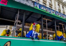 Basler Fasnacht, Carnival of Basel, Basel, Switzerland. Europe stock photo
