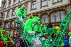 Basler Fasnacht, Carnival of Basel, Basel, Switzerland. Europe royalty free stock photo