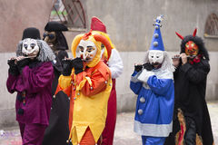 Basler_Fasnacht_2016_Gaessle_Di-44 Image stock