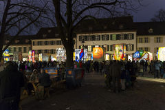Basler_Fasnacht_2016_Laternen-16 Stock Foto