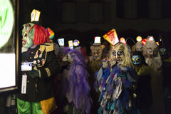 Basel carnival 2016 Royalty Free Stock Images