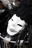 Basel carnival 2011 mask Stock Photography