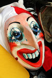 Funny basel carnival mask with red mouth and big nose Stock Images