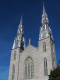 Basílica de la catedral de Notre Dame en Ottawa Fotografía de archivo libre de regalías