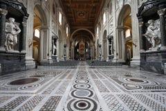 Basílica de Lateran Fotos de archivo libres de regalías