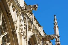 Basílica de Saint-Urbain em Troyes, França Fotos de Stock Royalty Free