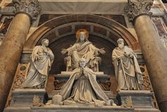 Basílica del St. Peters Imagen de archivo