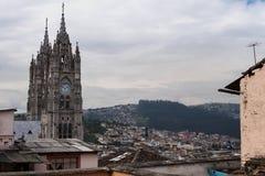 Basílica del Voto Nacional Stock Photography