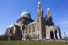 Basílica do coração sagrado em Bruxelas Fotografia de Stock Royalty Free