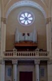 Basílica do órgão de Ta Pinu Fotos de Stock