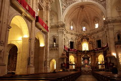Basílica of santa maria Royalty Free Stock Image
