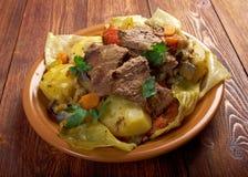 Basma -东方炖煮的食物 免版税库存图片