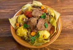 Basma - oriental  stew Stock Photos