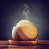 Basmati καφετί ρύζι Στοκ Εικόνες