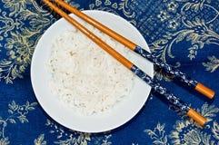 basmati палочки придают форму чашки рис Стоковая Фотография RF