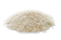 Basmati rice isolated Royalty Free Stock Photography