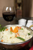 Basmati Rice with Moong Dhal Royalty Free Stock Image