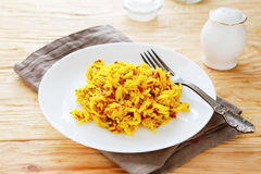 Basmati rice with spices and wild Royalty Free Stock Photos