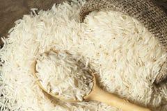 Basmati rijstverscheidenheden Stock Foto's