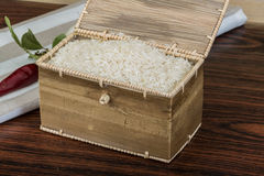 Basmati ryż Zdjęcie Stock