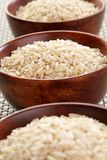 Basmati ryżowi puchary zdjęcie stock