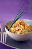 Basmati saffron rice Royalty Free Stock Photo