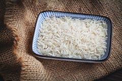 Basmati white rice Stock Photography