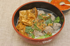 Baso sapi (beef ball soup) Royalty Free Stock Image