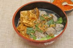 Baso sapi (Rindfleischkugelsuppe) Lizenzfreies Stockbild