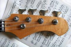 basowa gitara Obrazy Stock