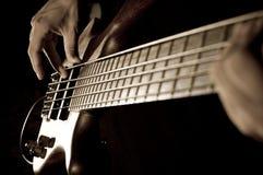 basowa gitara Fotografia Royalty Free