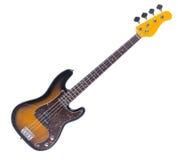 Basowa gitara, odizolowywający przedmiot Zdjęcia Stock