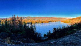 Basowa jeziorna jesień fotografia royalty free