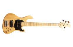 basowej gitary drewno Obraz Royalty Free