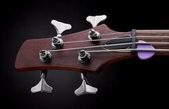 Basowej gitary headstock Fotografia Stock