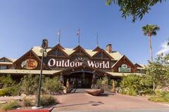 Basowy Pro sklep przy Silverton hotelem w Las Vegas, NV na Sierpień Obraz Stock