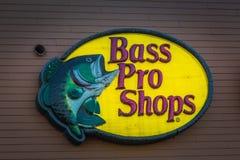 Basowy Pro sklepu logo obraz royalty free