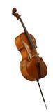 basowy wiolonczelowy wiolinowy violoncello Zdjęcia Stock