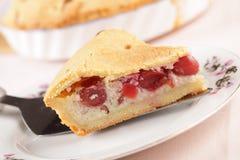 Basque cherry pie Stock Photography