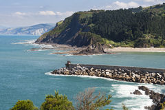 Basque Coast Royalty Free Stock Photography