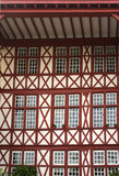 Basque Country architecture. A Basque Country architecture example Royalty Free Stock Photos