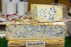 Basque country cheese (France) Stock Image